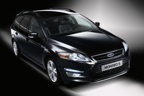 Editionsmodell Ford Mondeo S
