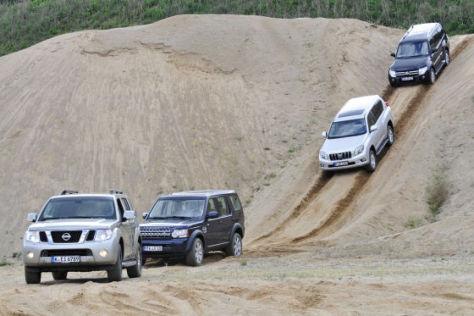 Land Rover Discovery Mitsubishi Pajero Nissan Pathfinder Toyota Land Cruiser