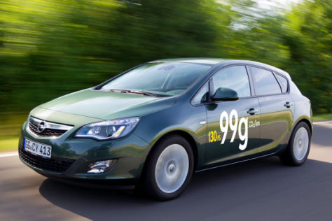 Opel Astra 1.7 CTDI EcoFlex 99g