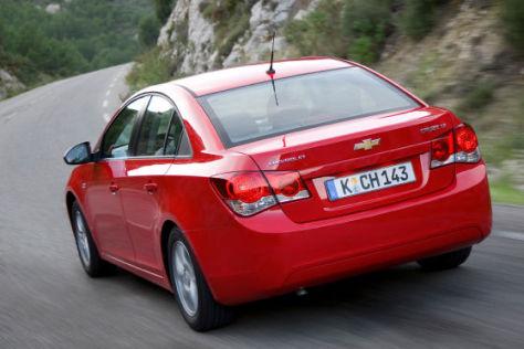 Chevrolet Cruze: Rückruf