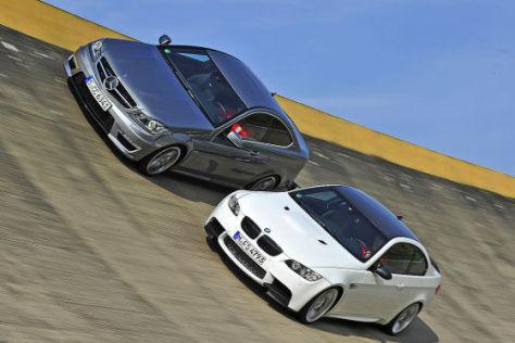 BMW M3 Mercedes C 63 AMG