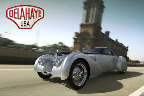 """Bugatti-Nachbau """"Bella Figura"""" Type 57S"""