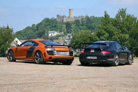 Audi R8 GT Porsche 911 GT3 RS 4.0
