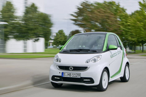 Smart fortwo electric drive IAA 2011