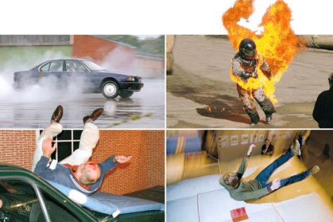 Suzuki Stunt-Training