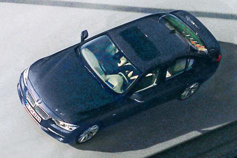 Neuer BMW 3er erstmals ohne Tarnung
