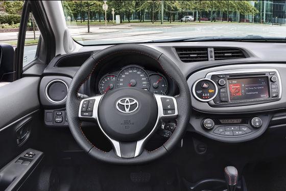 Toyota yaris test 2012