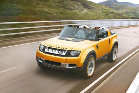 Land Rover Defender DC100 Sport Studie