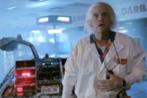 DeLorean Werbespot August 2011