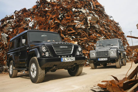 Land Rover Defender Iveco Massif