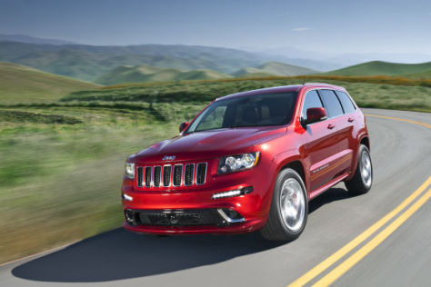 Jeep Grand Cherokee SRT8 (2012)