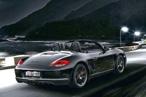 Porsche Boxster Zeichnung