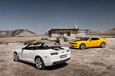 Chevrolet Camaro Coupé und Cabrio