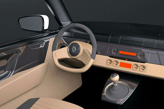 Renault R4 Entwurf