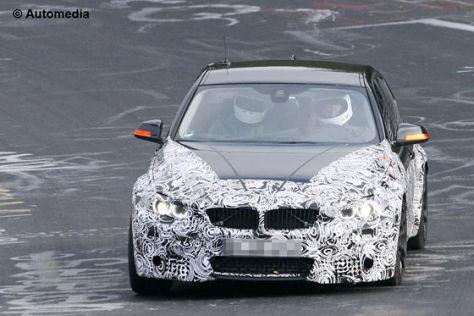 BMW M3 (F30) Erlkönig