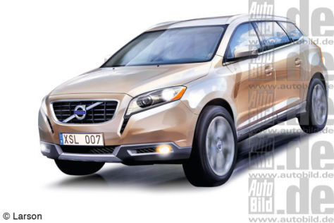Volvo XC90 Illustration