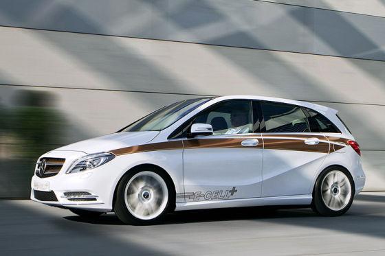 Mercedes B-Klasse E-Cell Plus