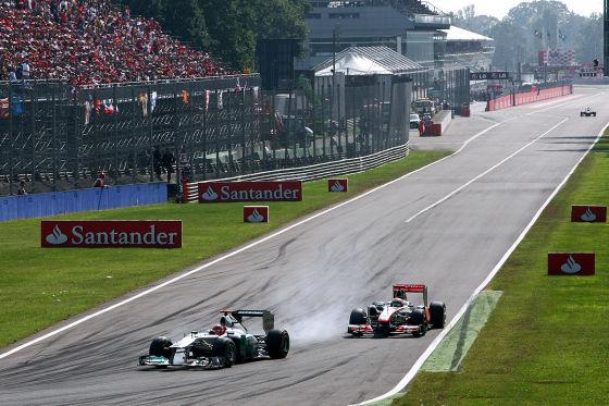 Highspeed-Krimi in Monza