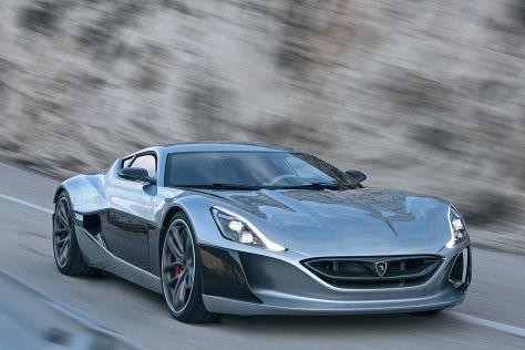 Rimac Concept One Genf 2016 Vorstellung Autobild De