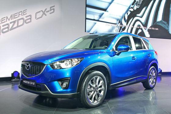 Der Mazda CX-5 macht ab Frühjahr Jagd auf die Platzhirsche im Segment der kompakten SUV. insbesondere den VW Tiguan hat der Japaner im Visier.
