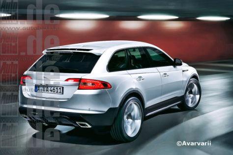 Jaguar SUV für 2014