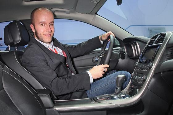 Chevrolet Malibu: Erste Sitzprobe