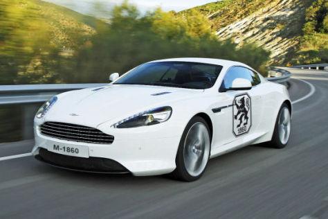 Aston Martin Sponsor von 1860 München