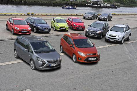 Markenvergleich Ford gegen Opel, Teil eins