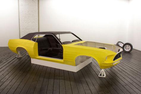 Papier-Mustang