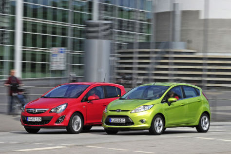 Ford Fiesta Opel Corsa