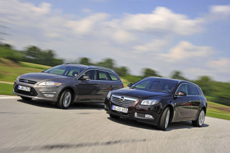 Ford Mondeo Opel Insignia