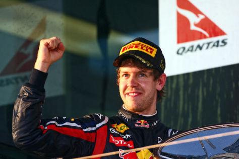 Sebastian Vettel Saison 2011