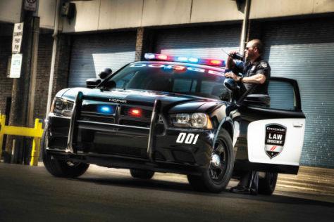 Dodge Charger Pursuit 2012 Polizeiwagen Autobild De