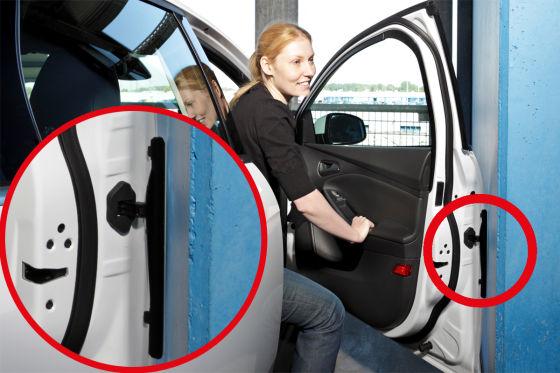 Santa Fe Ford >> Türkantenschutz von Ford fährt automatisch in Position - autobild.de