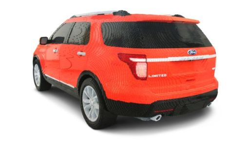 Legoland Ford Explorer
