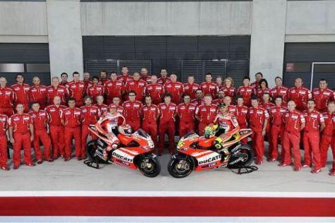 Das Ducati-Team tritt auch in Motegi in gewohnter Besetzung an