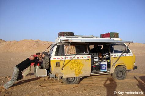 Vom Kiez zum Kap im VW Bus