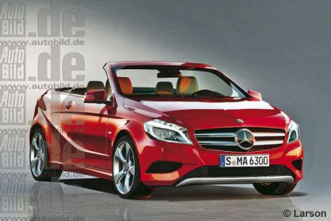 Mercedes A-Klasse Cabrio: Vorschau