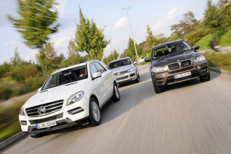 BMW X5 Mercedes ML VW Touareg
