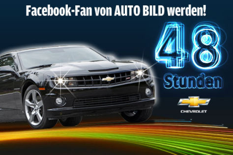 AUTO BILD-Gewinnspiel: Camaro fahren