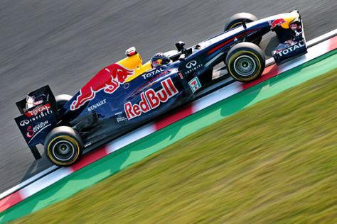 Sebastian Vettel Sieg in Suzuka 2011