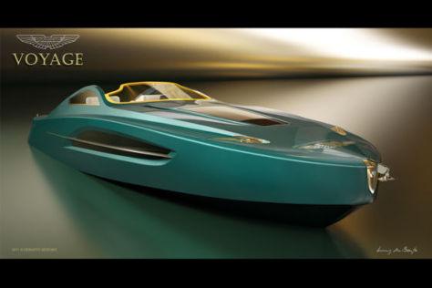 Aston Martin Yacht Voyage 55 Concept