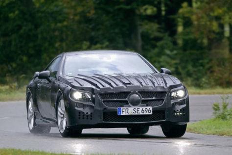 Mercedes SL Erlkönig