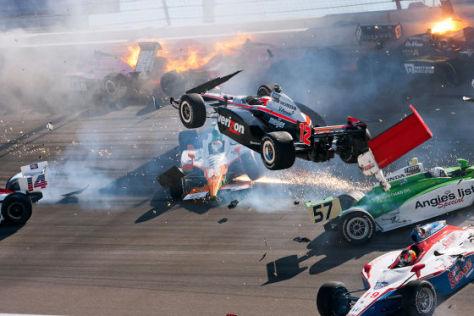 Tödlicher Indycar-Unfall
