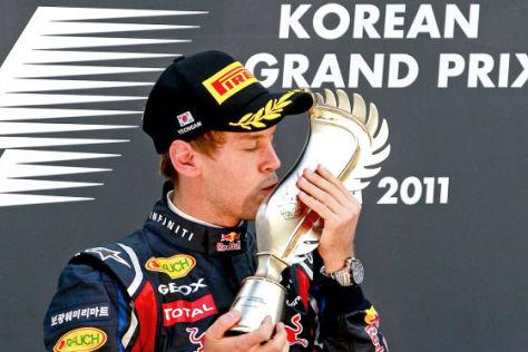 Vettel-Sieg in Südkorea