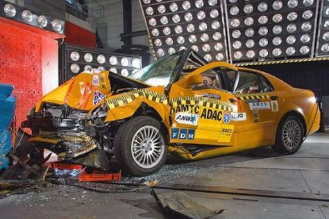 Brilliance BS6 im ADAC-Crashtest