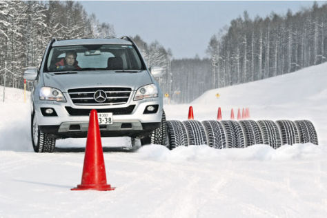 Winterreifen 255/55 R 18 Test