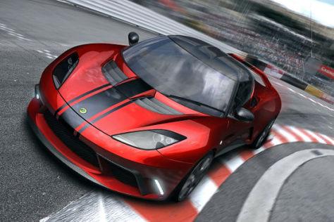 Lotus Evora GTE Concept