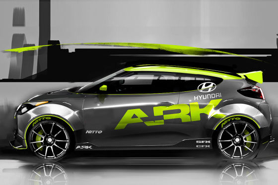 Hyundai Veloster Rallye ARK Performance