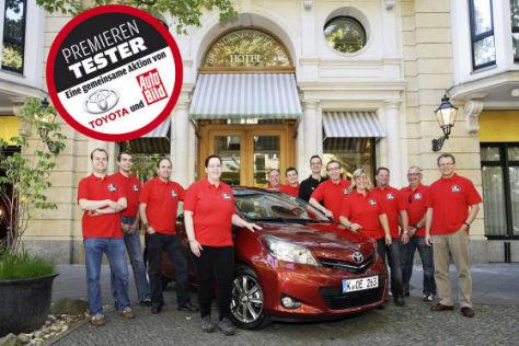 Toyota Yaris Premieren-Tester